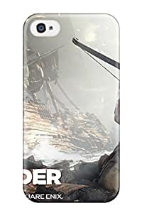 Defender Case For Iphone 4/4s, 2012 Tomb Raider Game Pattern