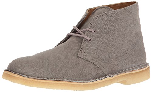 Desert Boot Clarks Taupe Mens Canvas F4Fwqdrx5