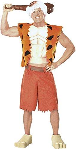 GTH Men's Bamm Bamm Barney Rubble Theme Party Fancy Dress Costume, XL (46-48)