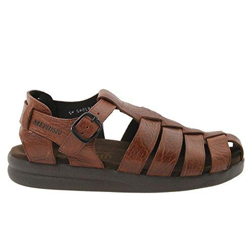 Mephisto SAM MAMOUTH Desert Brown Leather Sandal for Men 44(EUR) 10(US)