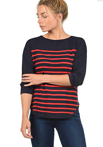 ONLY Risk Stripes Maille Captain nbsp; JACQUELINE Red Liese YONG by Femme High Pull de Sky en 0w77tqx61