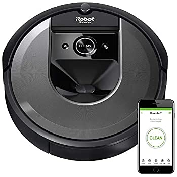 iRobot Roomba i7 Wi-Fi Connected Smart Mapping Robot Vacuum (7150), Works with Alexa, Ideal for Pet Hair, Carpets, Hard Floors