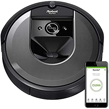iRobot Roomba i7 Wi-Fi Connected Robot Vacuum (7150), Works with Alexa, Ideal for Pet Hair, Carpets and Hard Floors