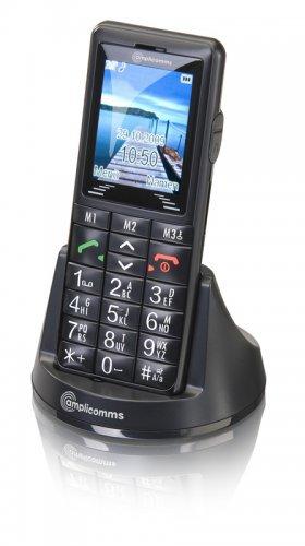 """Amplicom PowerTel M600 - Móvil libre (pantalla de 2"""" 176 x 220, S.O."""