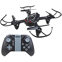 HaMi RC Helicopter Drone,Remote Control Helicopter 2.4Ghz 4CH 6-Axis Gyro Headless Quadcopter Drone with Altitude Hold - Black