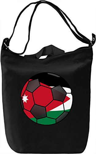 Jordan Football Borsa Giornaliera Canvas Canvas Day Bag| 100% Premium Cotton Canvas| DTG Printing|