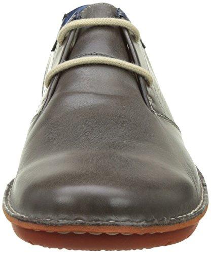 Pikolinos Basse Dark Scarpe Uomo Stringate Oxford v17 Grey Santiago Grigio M7b HagHAB