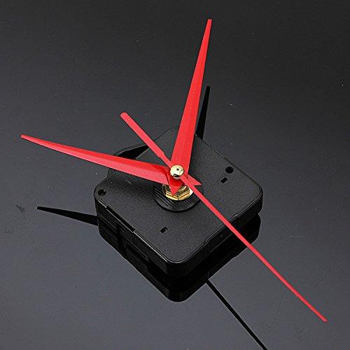 DIY Red Triangle Hands Quartz Wall Clock Movement (Porsche Clock)
