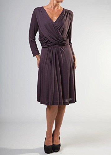 Great Plains - Vestido - para mujer ciruela