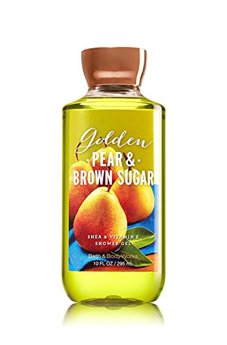 (Bath and Body Works Shower Gel Golden Pear and Brown Sugar. 10 Oz)
