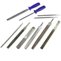 Neiko 00109A Heavy Duty File and Rasp Set PVC Handle, 12 Piece by Grace Marketing- HI