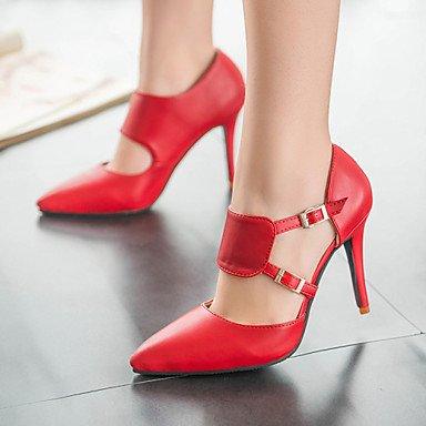 Heels donne Pumps Stiletto Heels Rot pizzo zehe High cirior pelle Donna in High nqxYEtP1