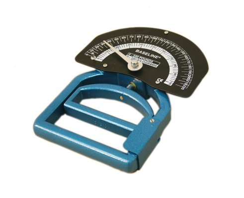 Baseline Smedley spring dynamometer, child, 110lb., without case by Fabrication