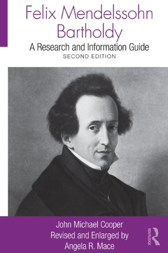 Download Felix Mendelssohn Bartholdy: A Research and Information Guide (Routledge Music Bibliographies) Pdf