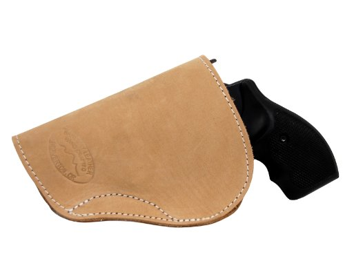 Barsony New Natural Tan Leather IWB Holster for Taurus 17; 941 Left