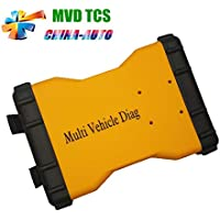 DHCCREATE Newest Multi Vehicle Diag MVD 2015.1 R1 Free Active TCS CDP Pro Plus LED 3IN1 New vci cdp Pro