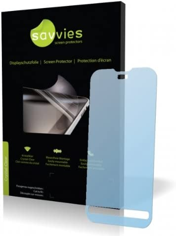 Protective Film Display Protection Film Savvies Crystalclear Screen Protector for CECT N5800 100/% fits