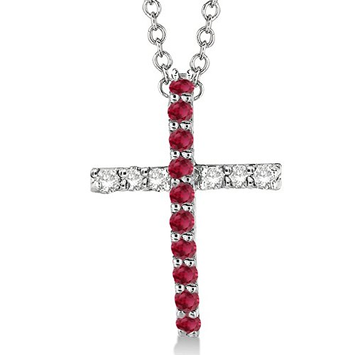0.25 Ct Ruby Pendant - 3