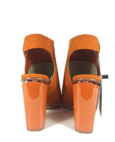 Zara Donna Slingbacks stivaletti in pelle 1109/201 (35 EU | 5 US | 2 UK)
