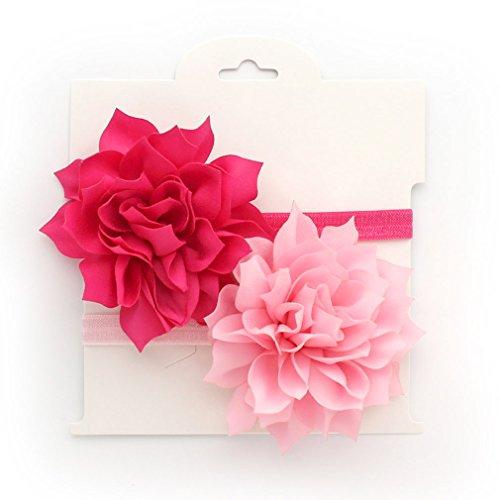 My Lello Baby Petal Flower Headbands Mixed Colors 2-Pack