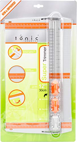 Tonic Studios 604 12-Inch Push Blade Super Trimmer