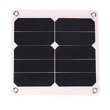 Cikuso 2A Panel Solar Externo 10W 5V Batería para Teléfono ...