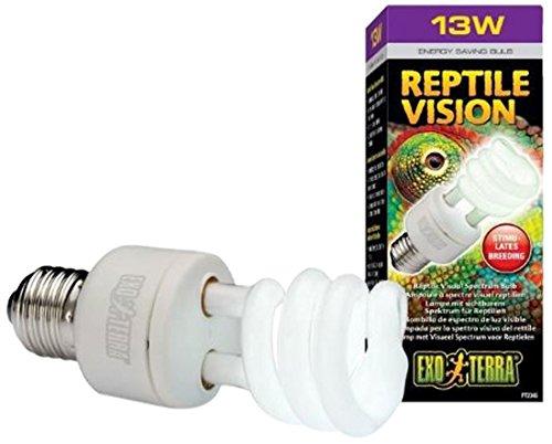 Hagen Exo Terra Reptile Vision Compact Fluorescent Lamp, 13-watt ()