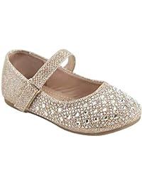 Little Girl Cute Flats - Sparkle Cute Bow Mary Jane Flats