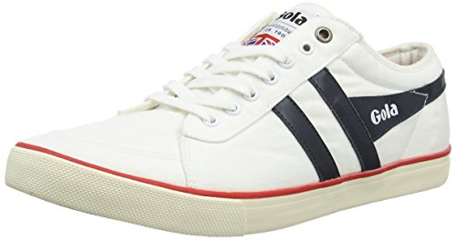 Gola Heren Komeet Fashion Sneaker Wit / Navy / Rood