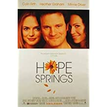 Hope Springs Double-Sided Regular 27X40 Colin Firth Minnie Driver Poster
