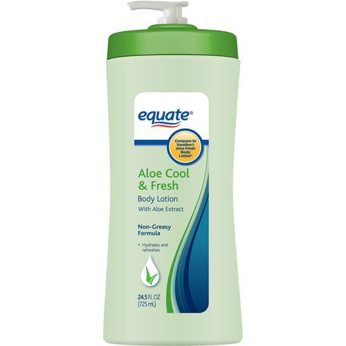 Equate Aloe Cool & Fresh Body Lotion, 24.5 fl oz (Cool Moisture Lotion compare prices)