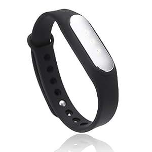 Xiaomi Mi Band - Monitor de actividad (Bluetooth, resistente al agua, indicadores LED), color negro