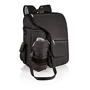 Picnic Time 'Turismo' Insulated Backpack Cooler, Black