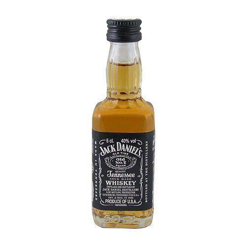Jack Daniels Miniature American Bourbon Whiskey 5cl Miniature