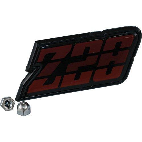 Eckler's Premier Quality Products 33142963 Camaro Gas Door Emblem Z28 ()