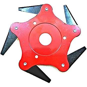 Amazon.com: Cortador de césped con 3 cuchillas de acero para ...