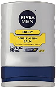 Nivea For Men Double Action After Shave Balm - 3.3 oz