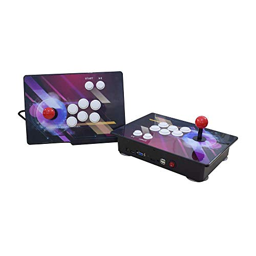 Haberman Arcade Game Console 1080P, 3D & 2D Games 2350 in 1, 2 Players Arcade Game Machine with Arcade Joystick for Home, Support Expand 10000+ Games (Console×2) by Haberman (Image #3)