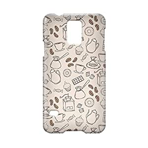 Bakery Samsung S5 3D wrap around Case - Brown Beige