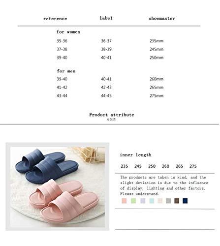 D'été Hommes Pour Sandales Femmes Antidérapant Bleu Couples Les Des Sand Clair Léger Slipper Bath Corrosionp g4wS7pqd