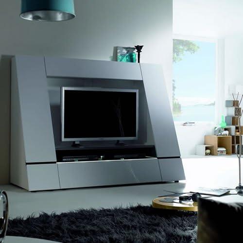 TV-pared CU-Luxor 45 color: blanco brillante: Amazon.es: Hogar