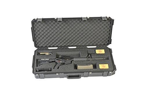 CVPKG Presents -SKB Black 3i-3614-AR case with custom cut interior foam(pictured)2 TSA Locking latches