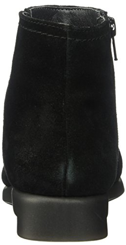 2 Women's Aerosoles Bootie Black Ankle Double Trouble Suede Sqfqw6