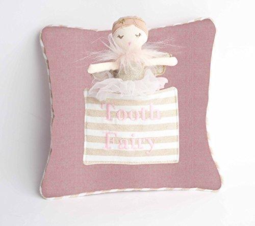 Tooth Fairy Doll - MON AMI Monami Tooth Fairy Pillow & Designer Plush Doll Set, 9 x 9, Multicolor