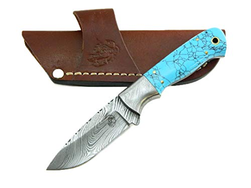Knives Ranch Bijou Knife with Faux Turquoise Grip ()