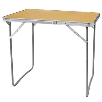 Aluminium Light Weight Portable Picnic Camping Folding Table Best Io Metro Furniture Exterior