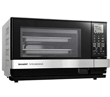 SHARP Horno microondas vapor 3 en 1 AX1100IN – Acero inoxidable