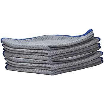 Detailer 365 Ultraplush Premium Microfiber Towels 850 GSM Thread Count 6 Pack
