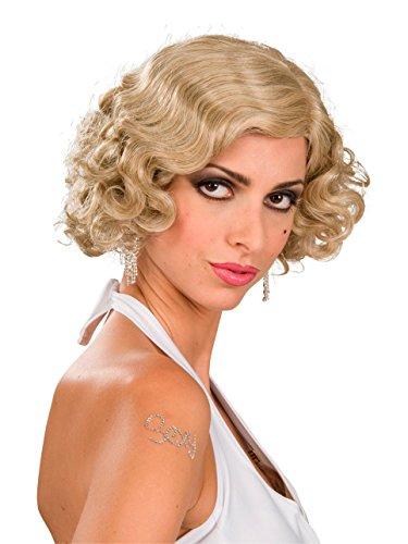 Wigs 1920 (Blonde Flapper Girl Adult Wig)