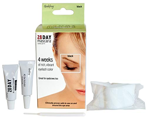 Godefroy 28 Day Mascara Black Permanent Eyelash Tint 25-Application Kit